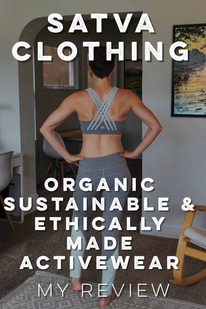 Satva's practices and cute styles will make you want to support this amazing company! Check out my review of their spring line + get 30% off!