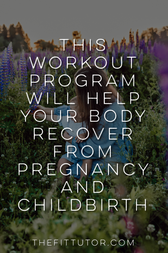 Your postpartum body needs special care, and just any old workout program will not cut it. You need exercises safe for bringing your abs back together and healing/strengthening your pelvic floor. This postpartum program is affordable, safe, and you can do it on your own schedule!