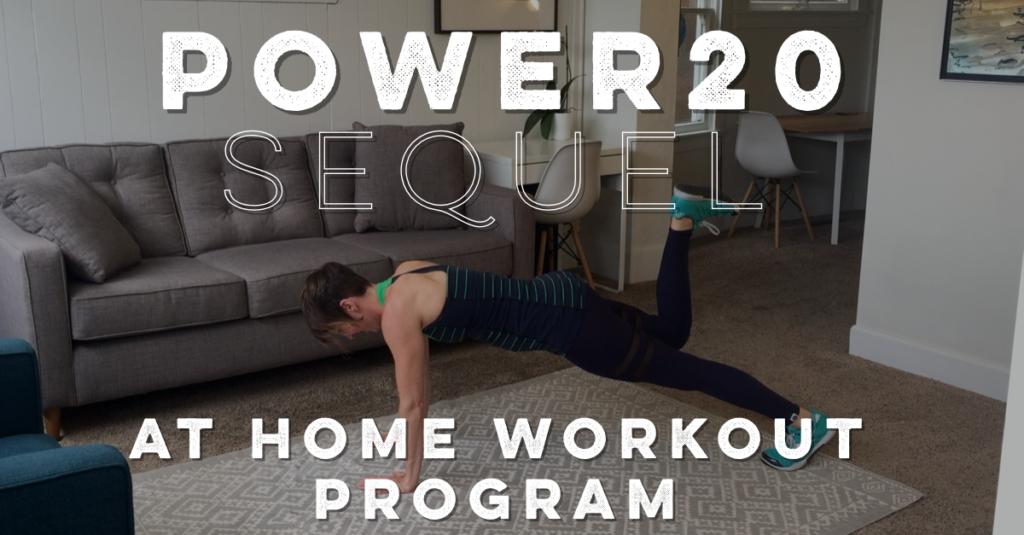quarantine workout program // get fit in 20 minutes!