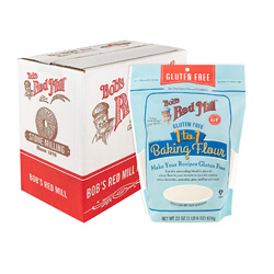 Bobs Red Mill 1:! gluten free flour is a great choice!