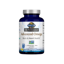 Garden of Life Advanced Omega Fish Oil- check out my fave healthy living products