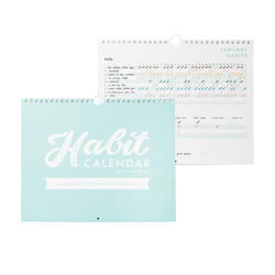 one of my fave healthy living products- habit charts are the ticket to success