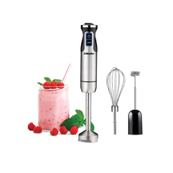 one of my fave healthy living products- I don't have a mixer, but even if you do this immersion blender is amazing for soups, smoothies, sauces, etc! I use mine a lot and it's small and easy to store and easy to clean!